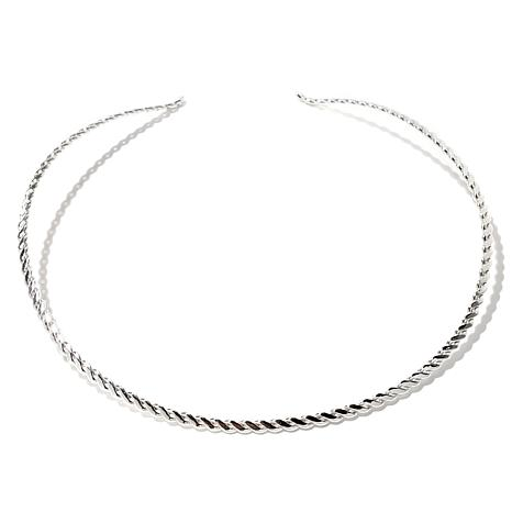 Jay King Twisted Wire Sterling Silver Collar Necklace