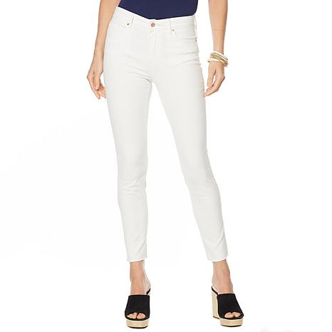 Jessica Simpson Adored High-Rise Skinny Ankle Jean - White