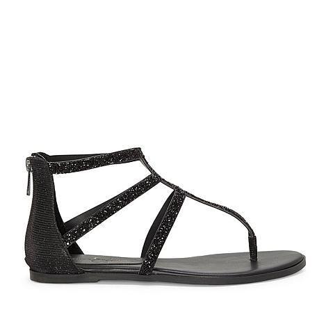 Jessica Simpson Cammie Glitter Thong Gladiator Sandal