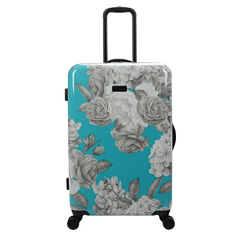 Jessica Simpson English Rose 25-inch Hardside Spinner in Turquoise