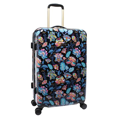 Jessica Simpson Floral Paisley 25-inch Hardside Spinner in Multi Black