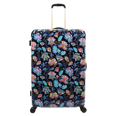 Jessica Simpson Floral Paisley 29-inch Hardside Spinner in Multi Black