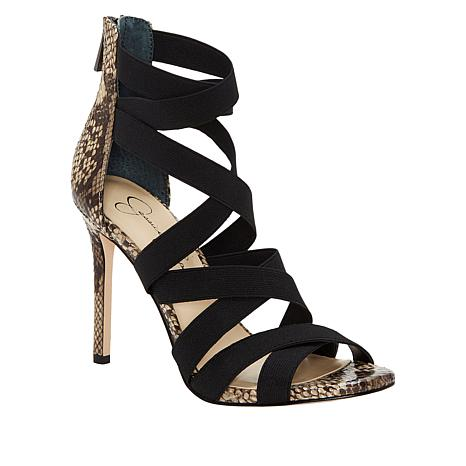 Jessica Simpson Jyra Strappy Elastic Dress Sandal