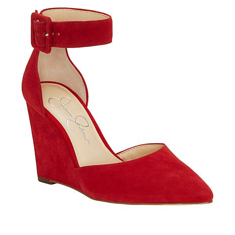 2d9d9614cb7 Jessica Simpson Moyra Suede Wedge Pump - 8886760