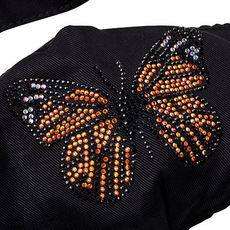 JK NY Beaded Novelty Reusable Cloth Face Coverings 3-piece Set