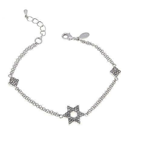 "Joan Boyce Gail's ""Star of David"" Link Bracelet"