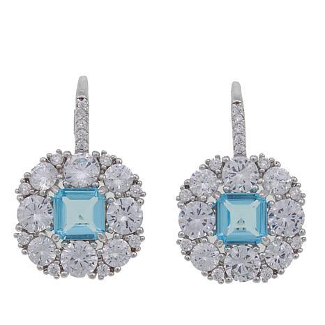 "Joan Boyce Marisa's ""Royal Wedding"" Colored Drop Earrings"