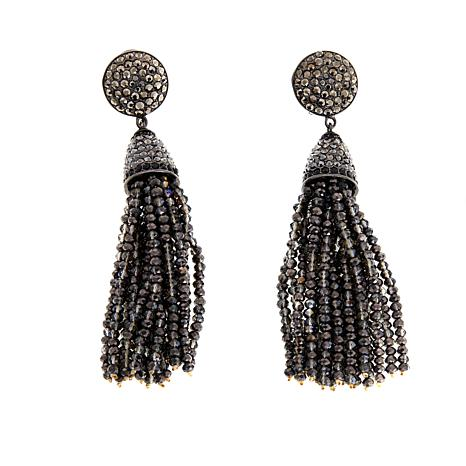 "Joan Boyce ""Trendy, Tasteful and Terrific"" Tassel Drop Earrings"