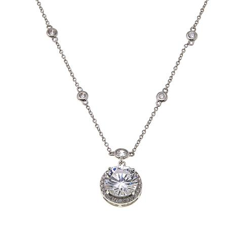 """Joan Boyce Yahewa's """"As Real As It Gets"""" Round Drop Necklace"""