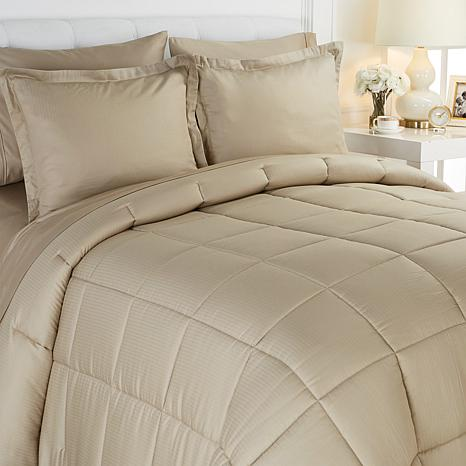 Joy 7 Piece Sheet And Comforter Set With Warm And Cool Temp Technology 8320207 Hsn