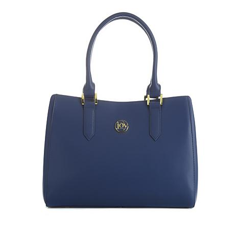 JOY E*Lite Couture Genuine Leather Satchel with RFID