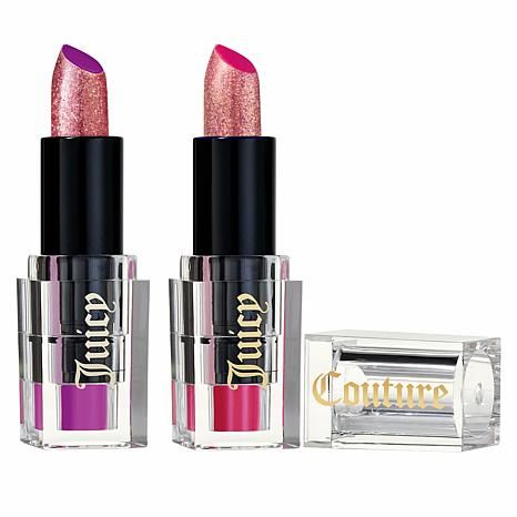 Juicy Couture Ruby Rouge & Crown Jewel Glitter 2-pack Lipstick