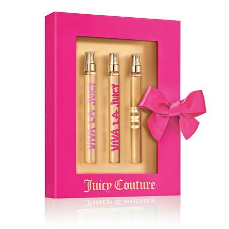 Juicy Couture Travel Spray 3-piece Set