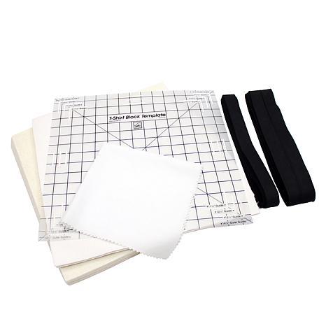 June Tailor, Inc D-I-Y Reversible 12-Block T-Shirt Quilt Kit