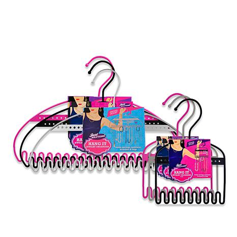 Just Solutions Hang It 6pack Jewelry Organizers 7705336 HSN