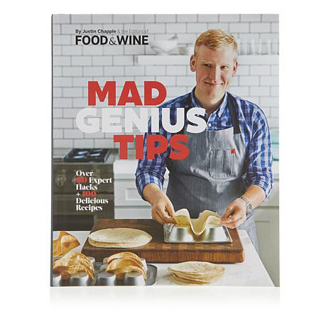 "Justin Chapple ""Mad Genius Tips"" Handsigned Cookbook"