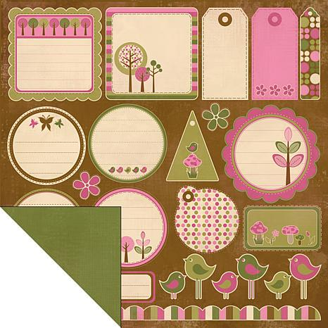 Kaisercraft Hey Birdie Double-Sided Paper - Hotfoot