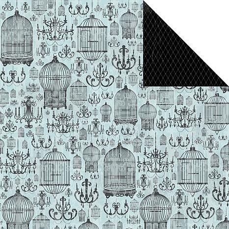 Kaisercraft Le Chateau Double-Sided Paper - Lustre