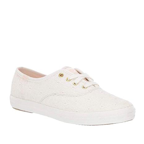 Keds Champion White Eyelet Lace-Up Sneaker