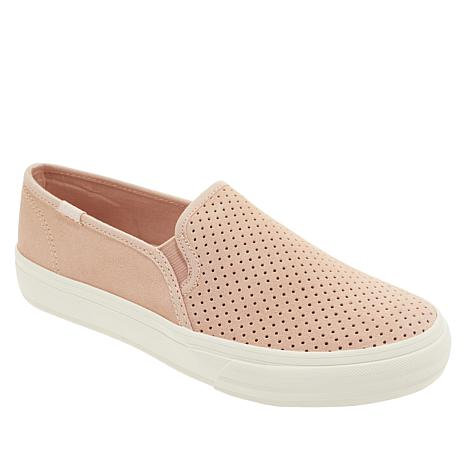 Keds Double Decker Perforated Suede