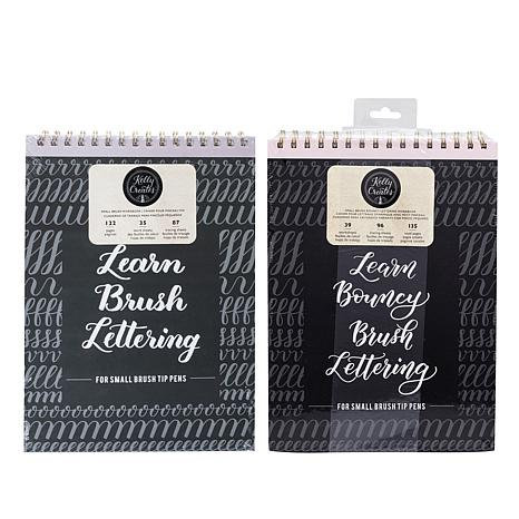 Kelly Creates Small Brush Lettering Workbook Bundle