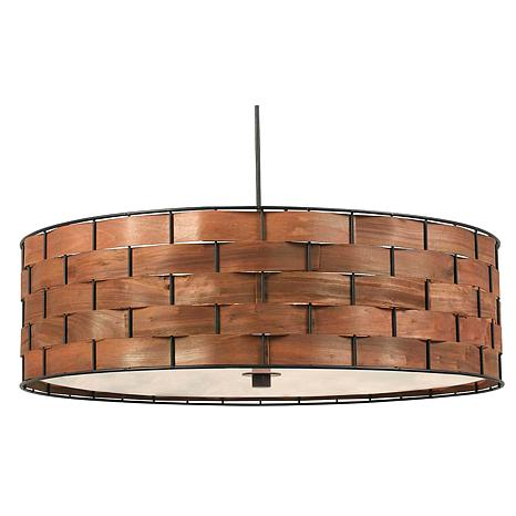 Kenroy Home Shaker 3-Light Pendant
