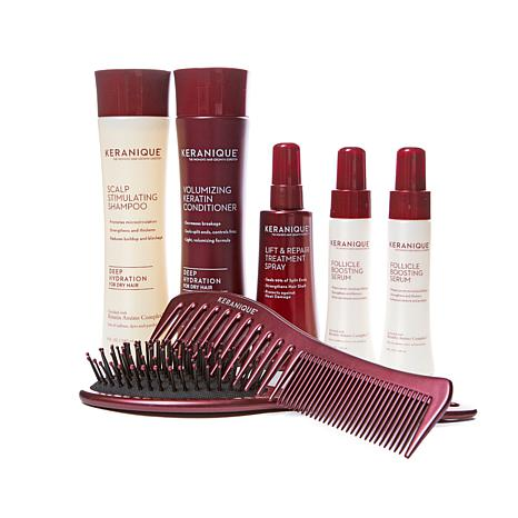 Keranique 60-Day Volumizing Kit w/Comb & Brush