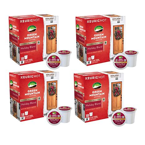 Keurig Green Mountain Holiday Blend Coffee K-Cups 72-count