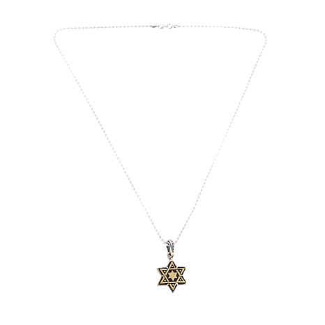 King baby jewelry sterling silver and alloy star of david pendant king baby jewelry sterling silver and alloy star of david pendant with 24 ball 8448285 hsn aloadofball