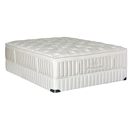 Kingsdown Vintage Melange Firm Luxury Plush Mattress Set - Twin