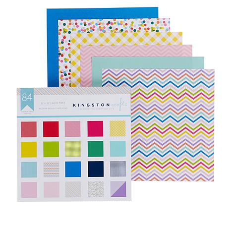 Kingston Crafts Essentials 84-count Paper Pack