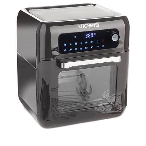 exclusive! Kitchen HQ 10-Quart Air Fryer Oven with Rotisserie