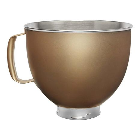 KitchenAid 5-Quart Stainless Steel Bowl - Victoria Gold
