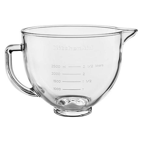 KitchenAid 5-quart Stand Mixer Glass Bowl