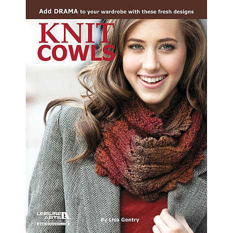 """""""Knit Cowls: 10 Designs For Every Neck"""" Book"""