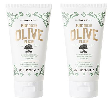 Korres 2-pack Pure Greek Olive Oil Face and Body Elixir