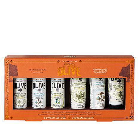Korres 6-piece The Absolute Greek Olive Oil Set