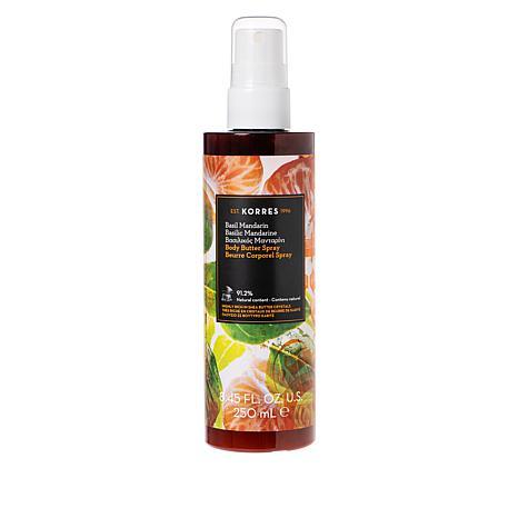 Korres Basil Mandarin Body Butter Spray