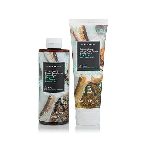 Korres Coconut Guava Body Butter & Shower Gel Duo