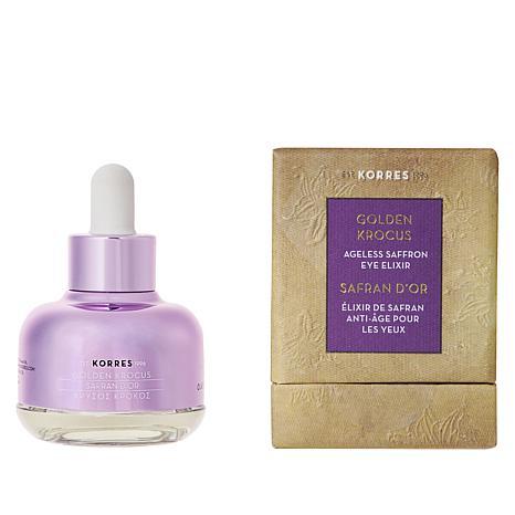 Korres Golden Krocus Ageless Saffron Eye Elixir 9093238 Hsn