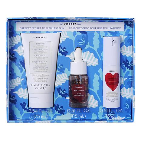 Korres Greece's Secret to Flawless Skin Skincare Set
