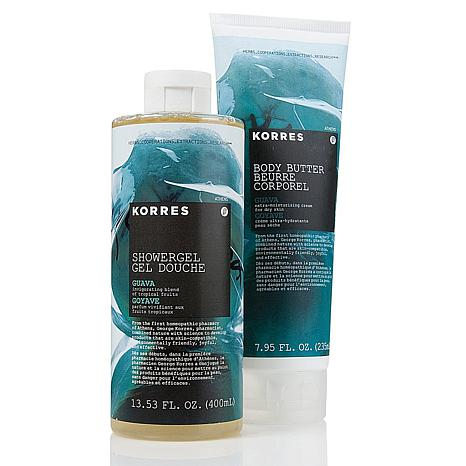 Korres Guava Shower Gel and Body Butter Duo