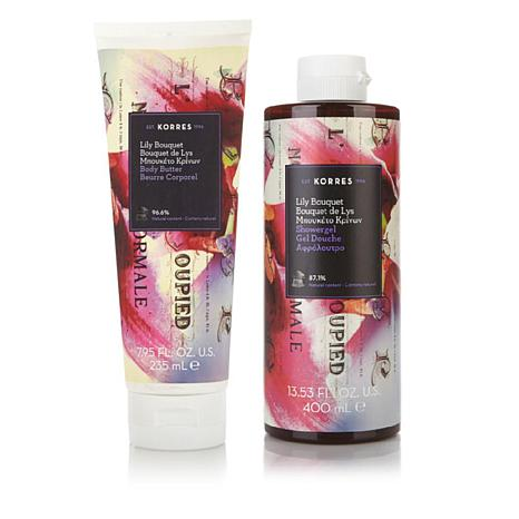 Korres Lily Bouquet Body Butter and Shower Gel