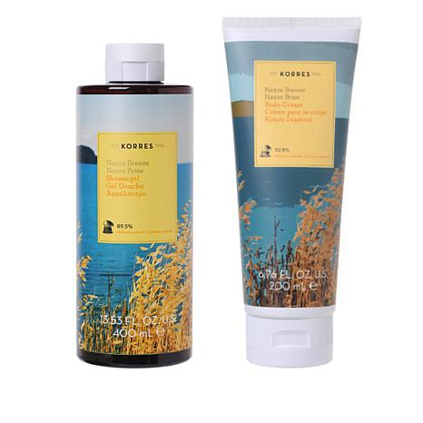 Korres Naxos Breeze Body Cream and Shower Gel Duo