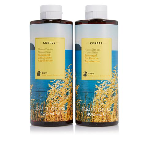 Korres Naxos Breeze Shower Gel Duo