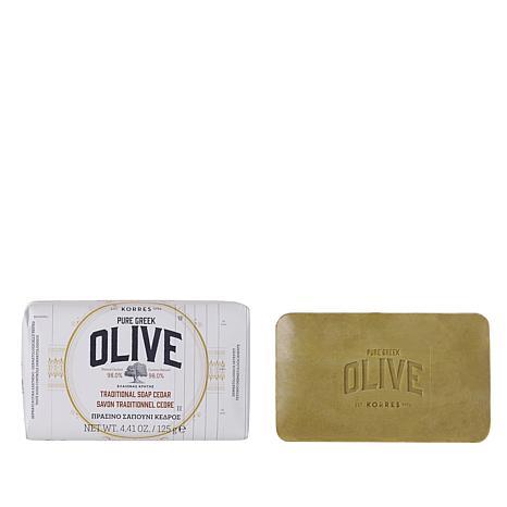 Korres Olive Oil & Cedar Bar Soap