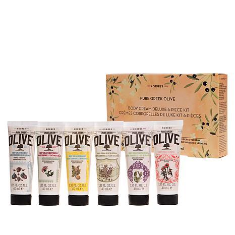 Korres Olive Oil Blockbuster 6-piece Body Cream Set