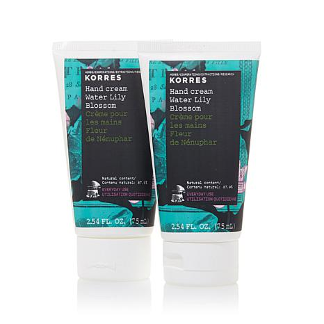 Korres Water Lily Blossom Hand Cream Duo