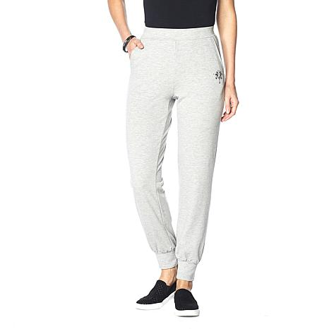 LaBellum by Hillary Scott Sweatpants with Embellishments