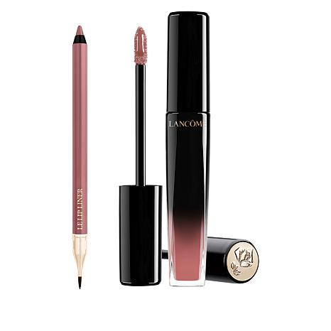 Lancôme Nude L'Absolu Lacquer and Le Lip Liner Duo